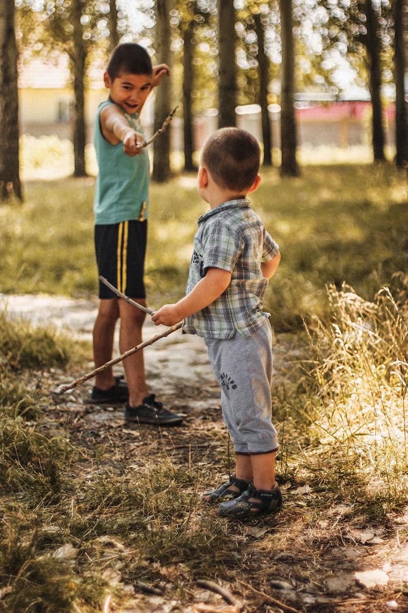 actividades en la naturaleza con niños