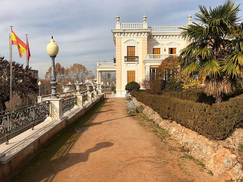 paseos por Granada con niños Palacete Quinta