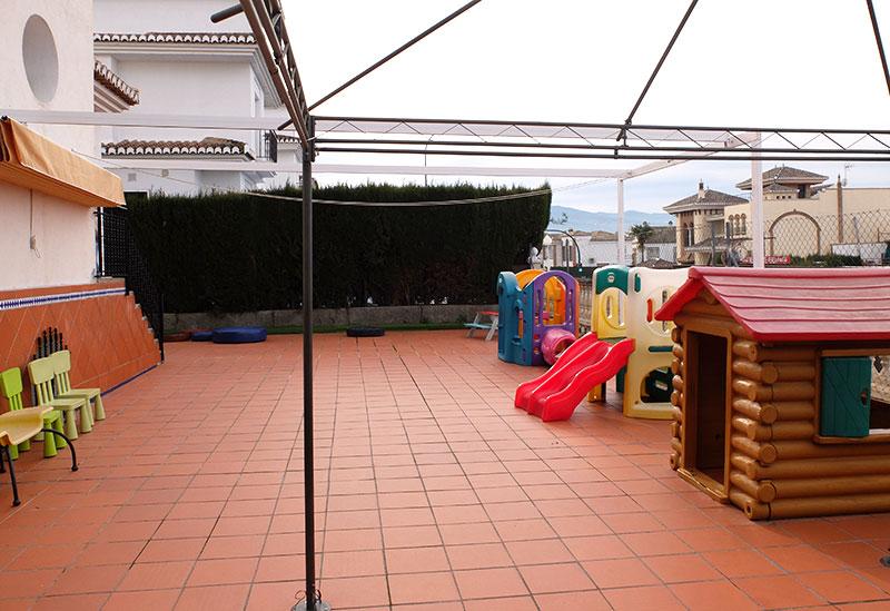 patio guarderia la cabaña del dormilon