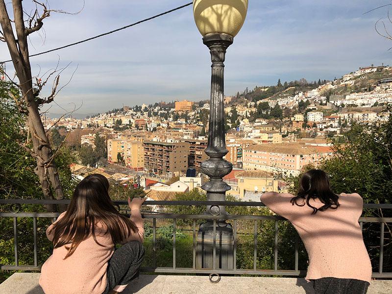 vistas desde el Palacio Quinta Alegre