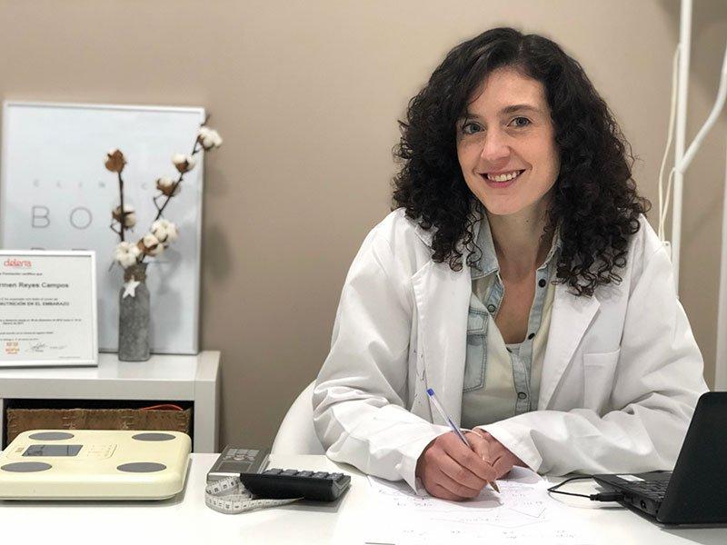 María Reyes Nutricionista Clínica Bonadea
