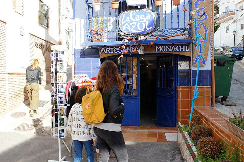 La casa azul Monachil