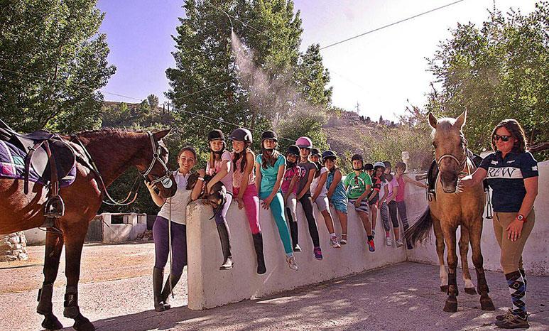 escuela de equitacion granada