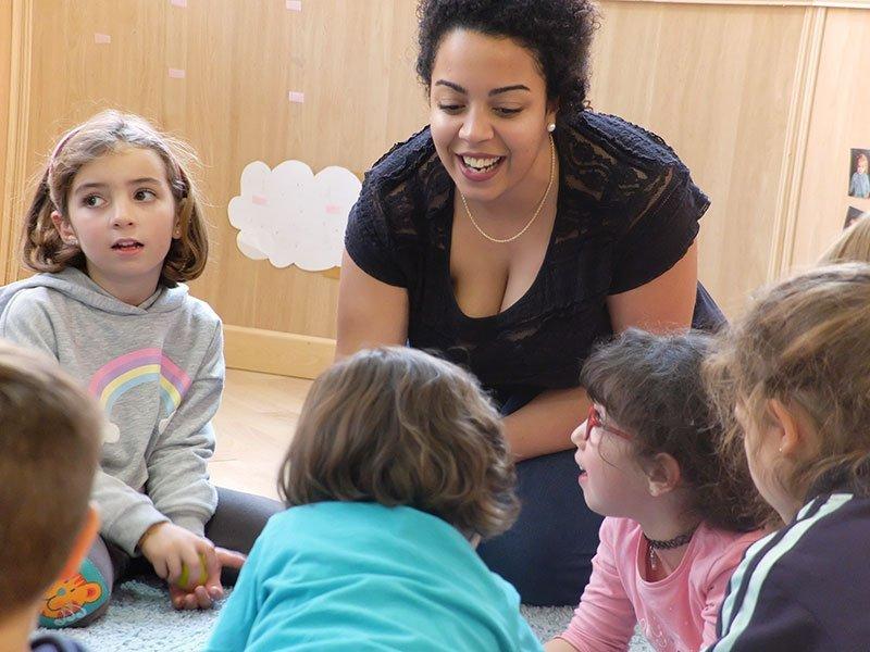 Adriana Gorgoritos escuela música para niños Granada