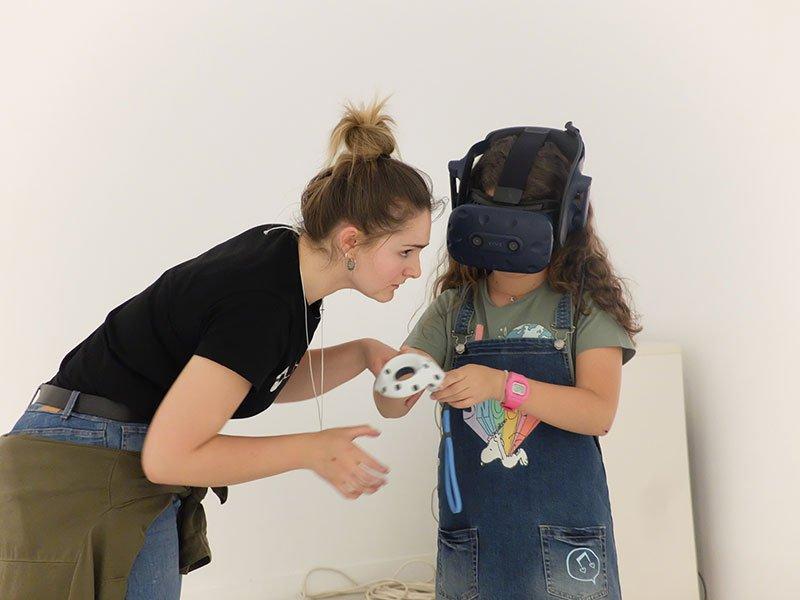 realidad virtural arte para aprender