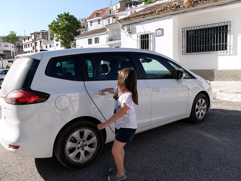 Opel Zafira coche familiar