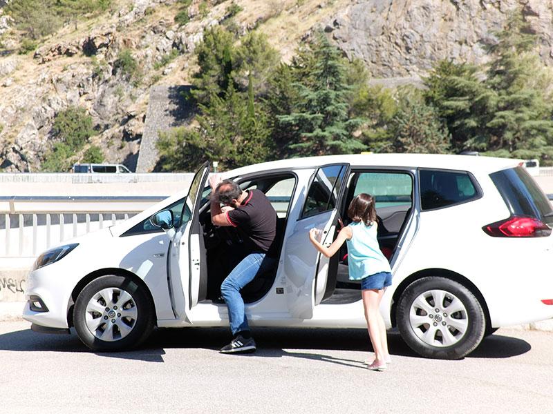 coche para familias Opel Zafira