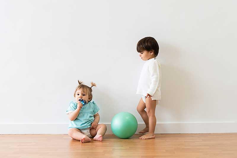 aprender a andar bebé