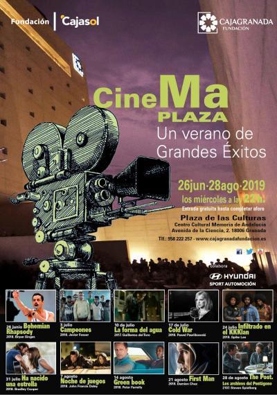 cine de verano Cajagranada