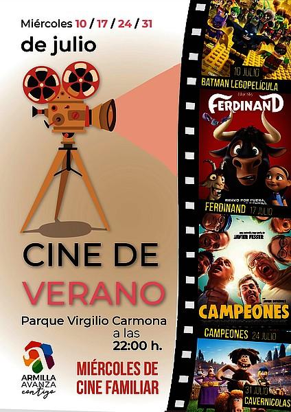 cine de verano en Armilla