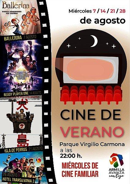 cine de verano Armilla agosto