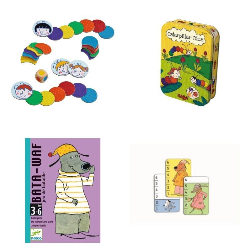 juegos de mesa para niños de tres años