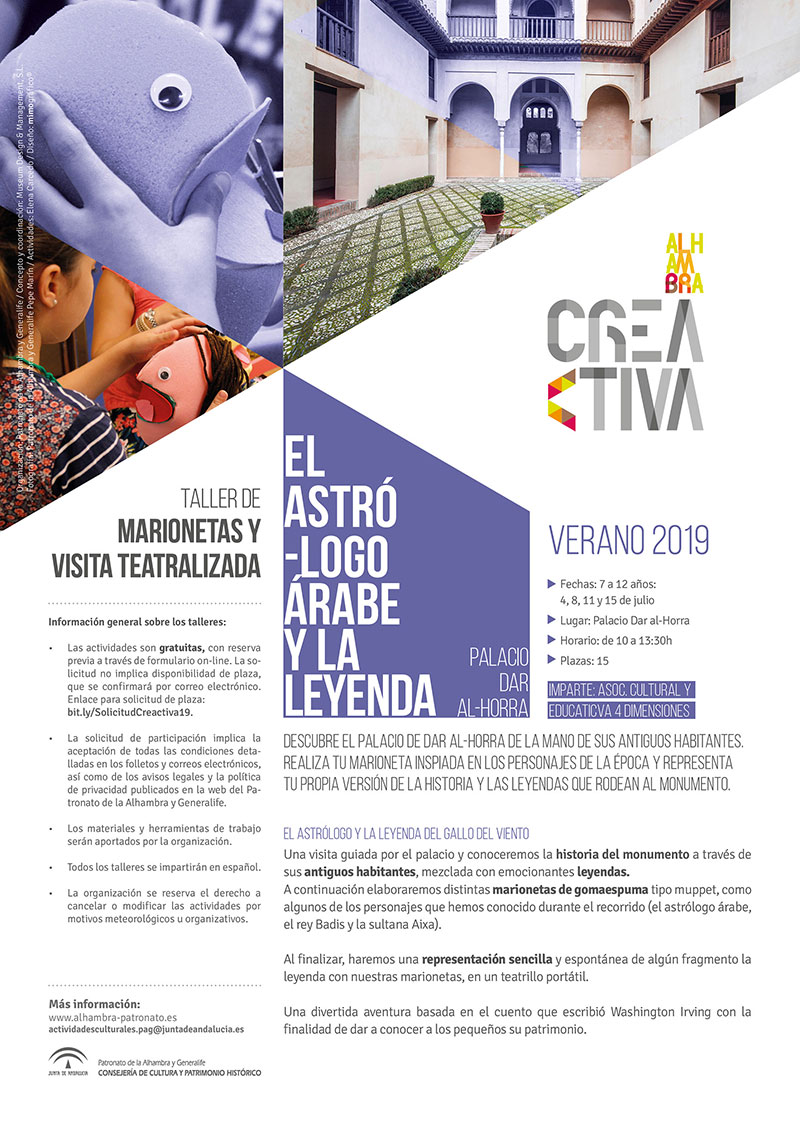 taller marionetas Alhambra Creactiva