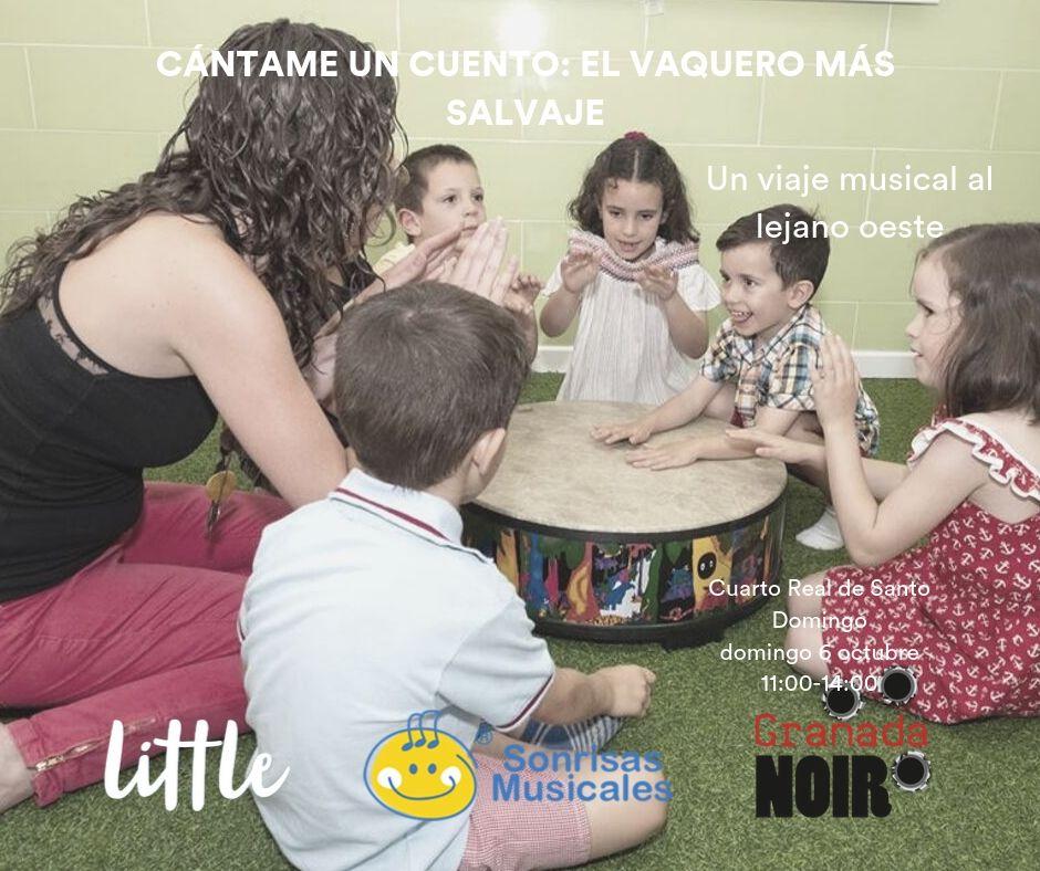 actividad sonrisas musicales Little noir