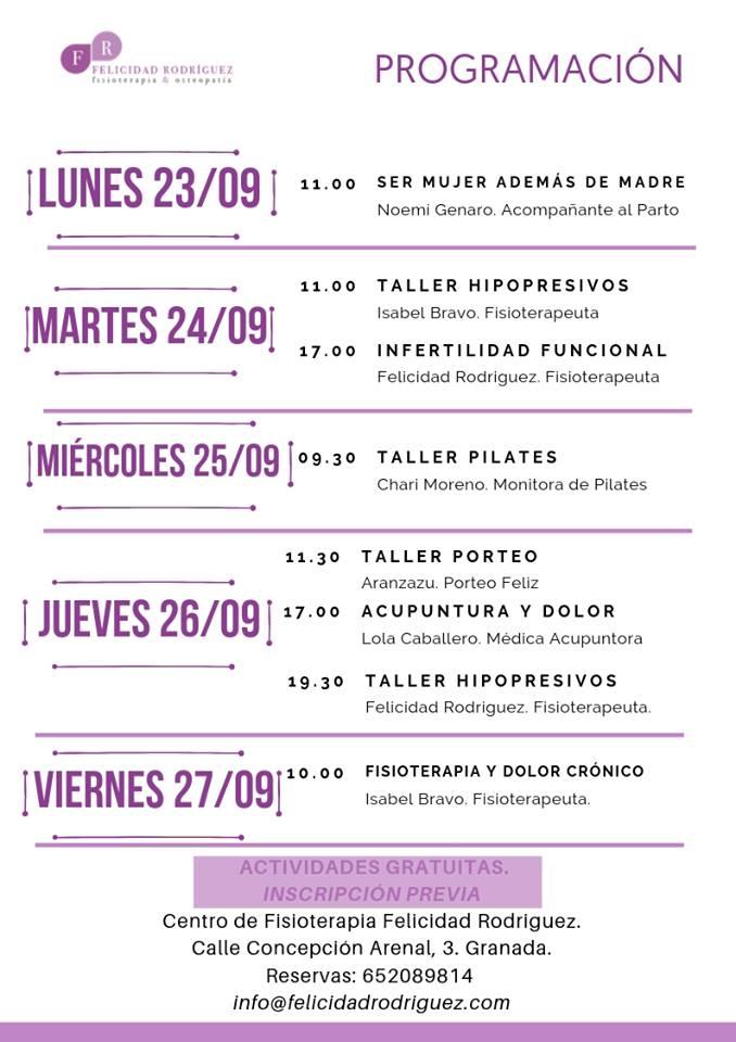 programa puertas abiertas felicidad Rodríguez