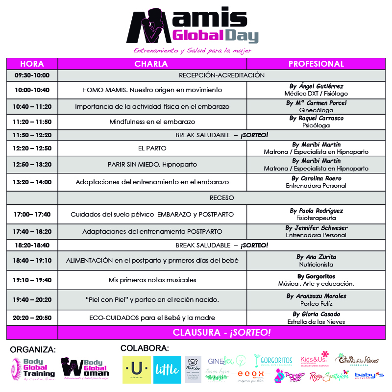 programa mamis global day
