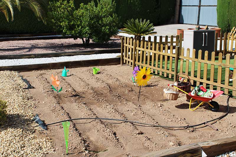 huerto Montessori granada