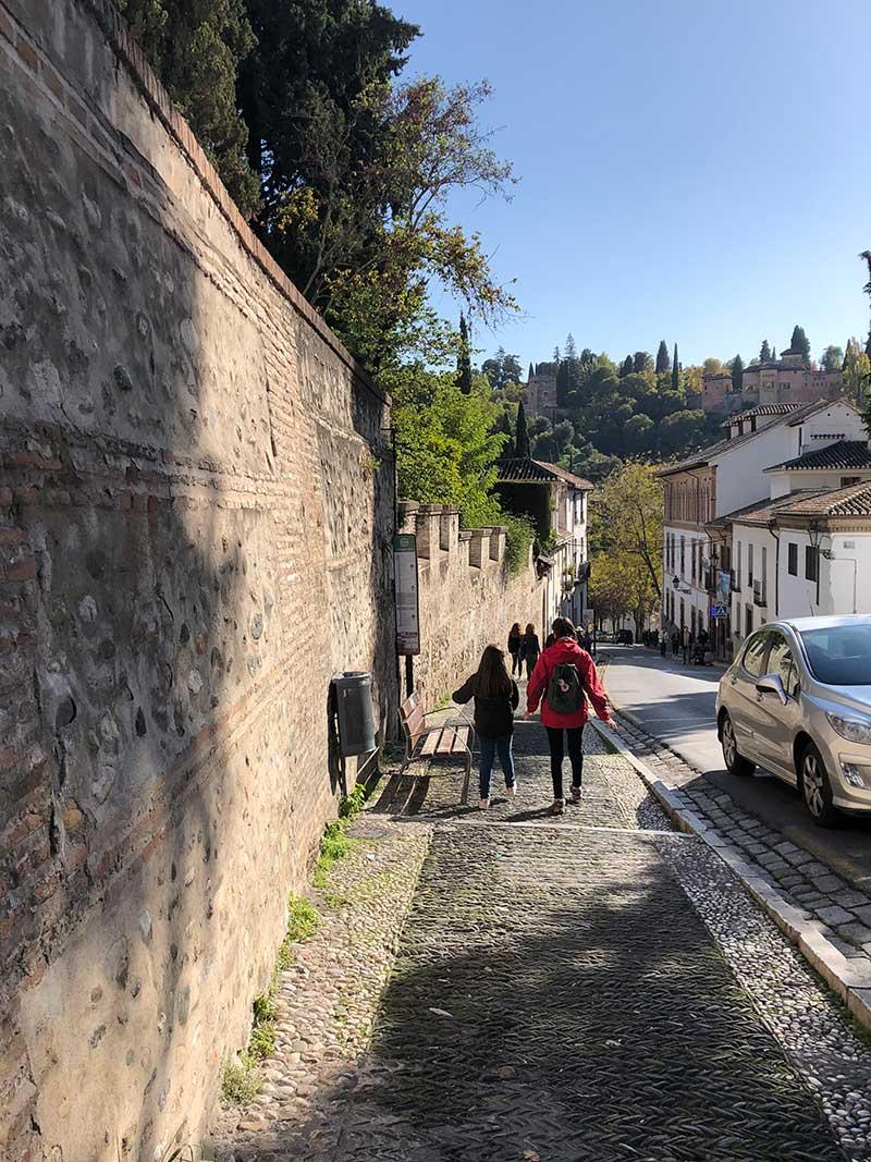 paseo sacramente a pie abadia