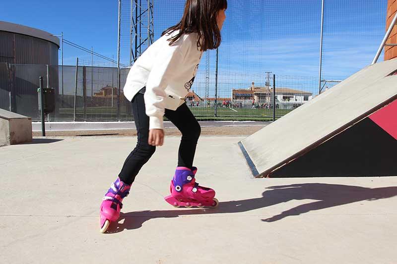 patinaje para niños Güevejar Granada