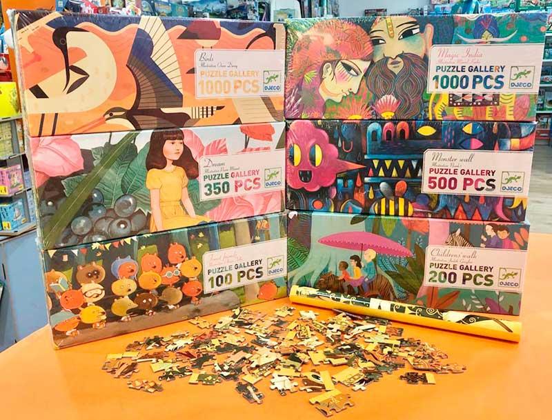 puzles dejo para niños
