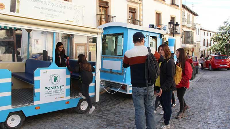 tren turístico Montefrío