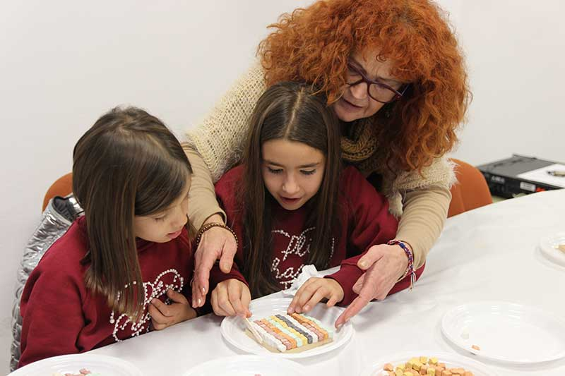 taller mosaicos romanos niños Salar