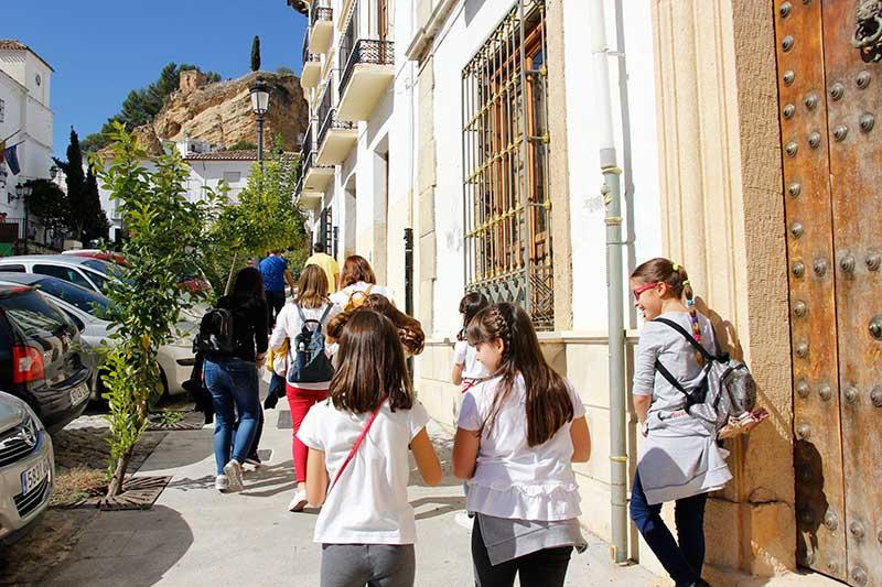 pasear por Montefrío