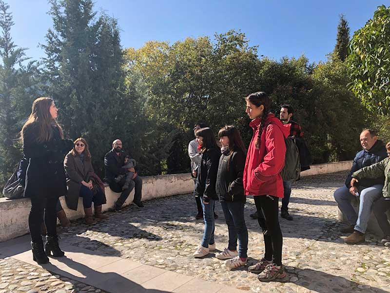 visita guiada familias abadia sacramente granada