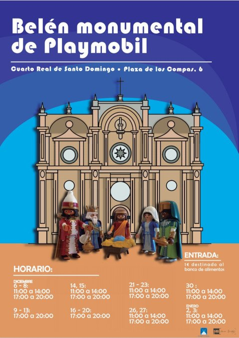 Belén monumental Playmobil Cuarto Real Granada