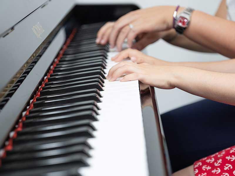 clases de piano para niños en Granada
