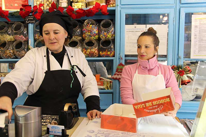 roscos de Loja pastelería santa Teresa