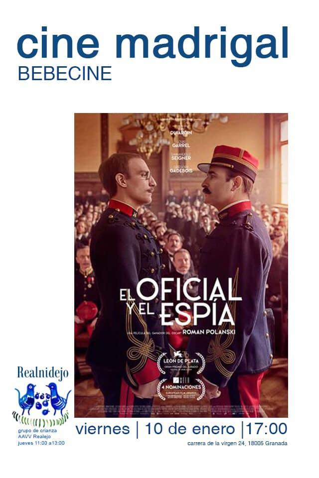 bebe cine en Granada