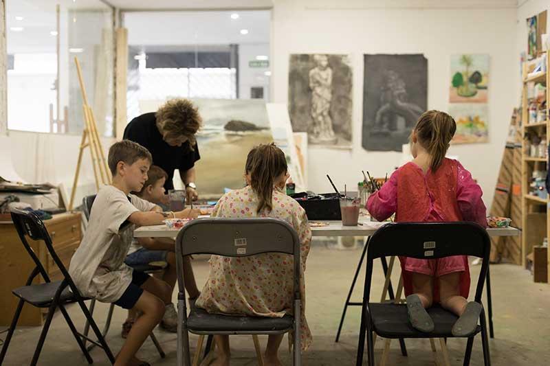 academia dibujo niños Granada
