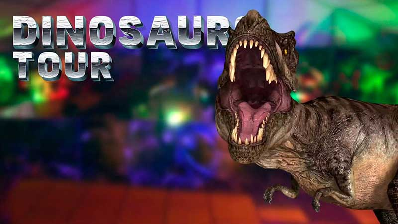los dinosaurios invaden Granada