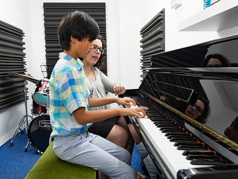 escuela aprendizaje musica niños Granada