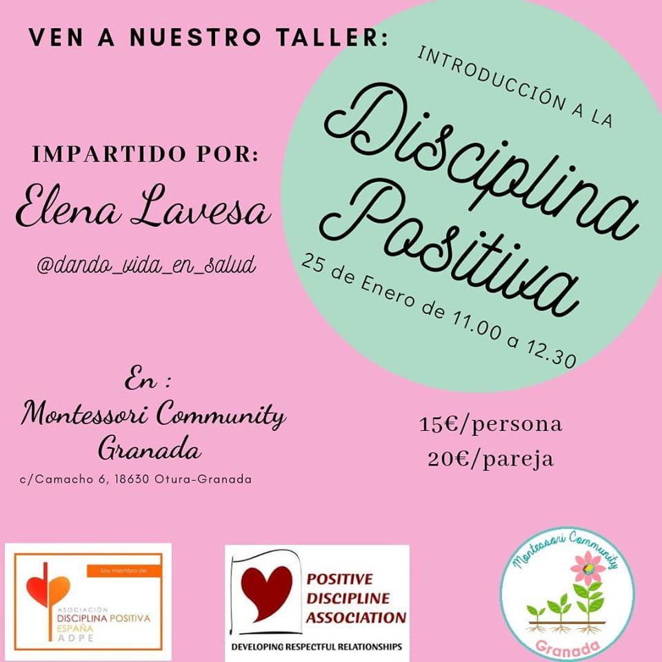 taller disciplina positiva en Granada