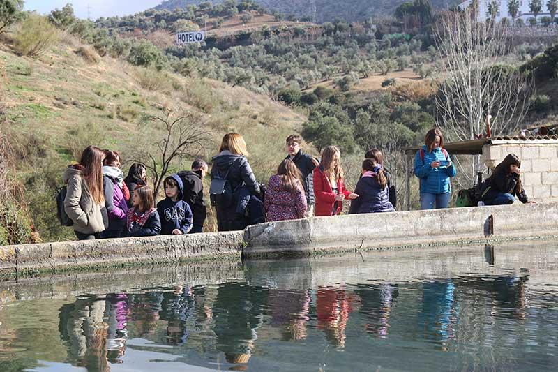 visita guiada piscifactoria Riofrío