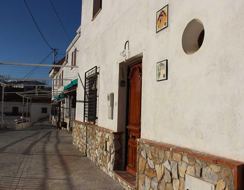 albergue de peregrinos Tocón de Quéntar Granada