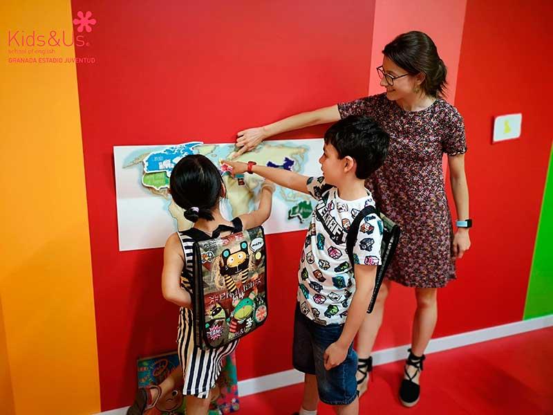 aprender ingles en Granada niños