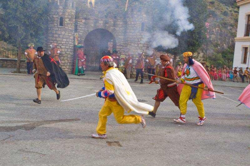 fiestas moros y cristianos Quéntar