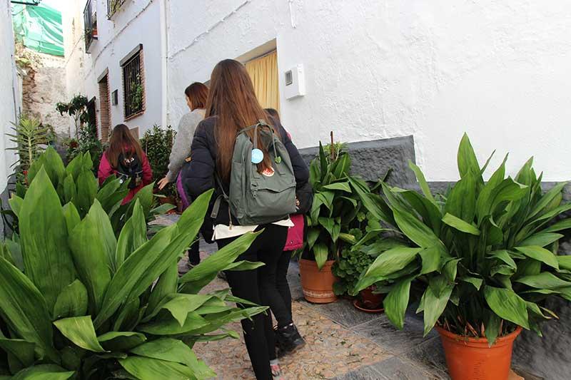 calles pintorescas Cogollos Vega Granada