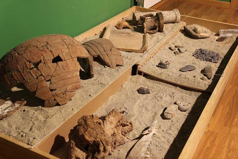 piezas arqueológicas Cogollos Vega