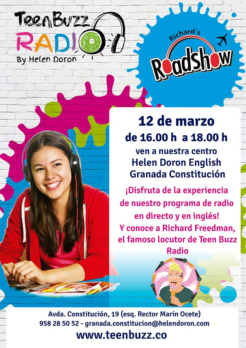 teen Buzz radio Granada