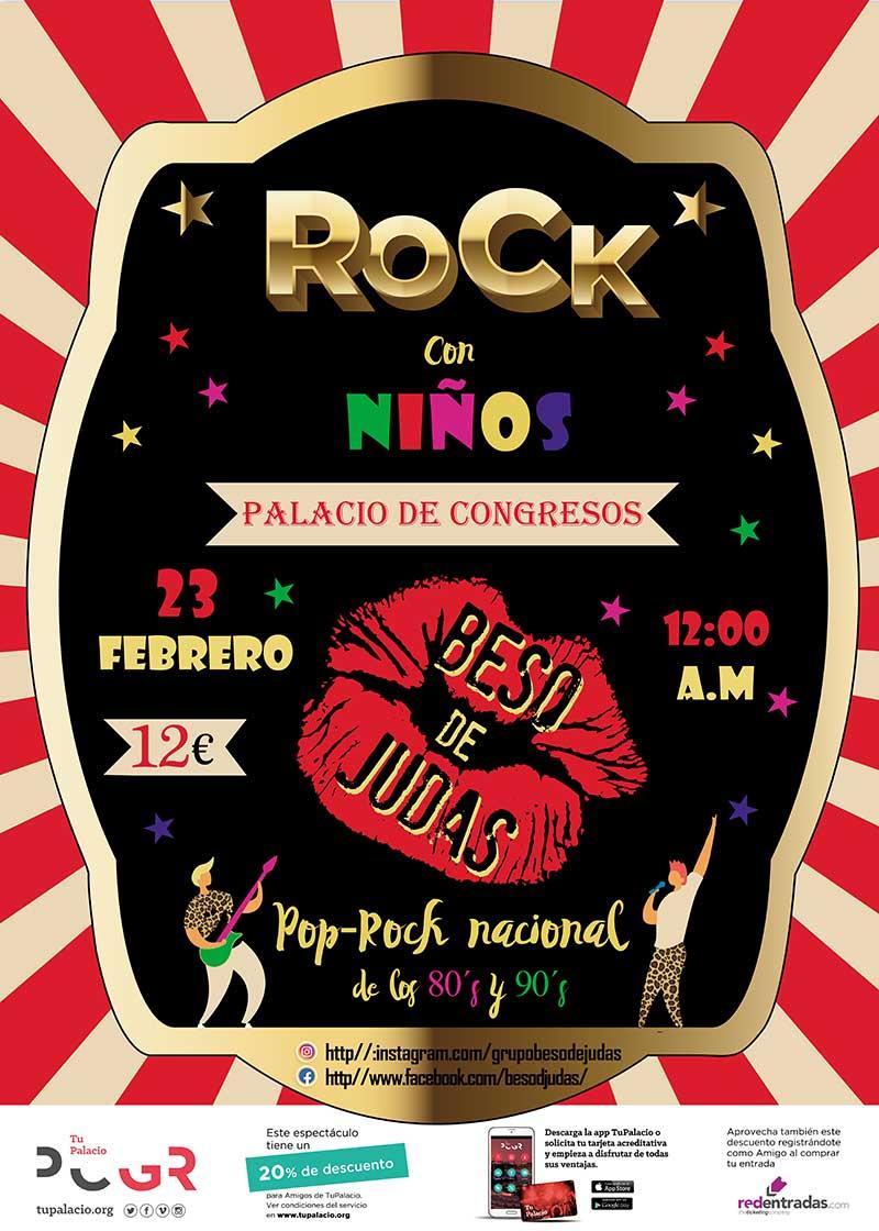 rock con niños palacio congresos Granada