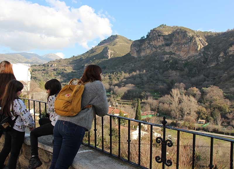 vistas Quéntar Granada turismo