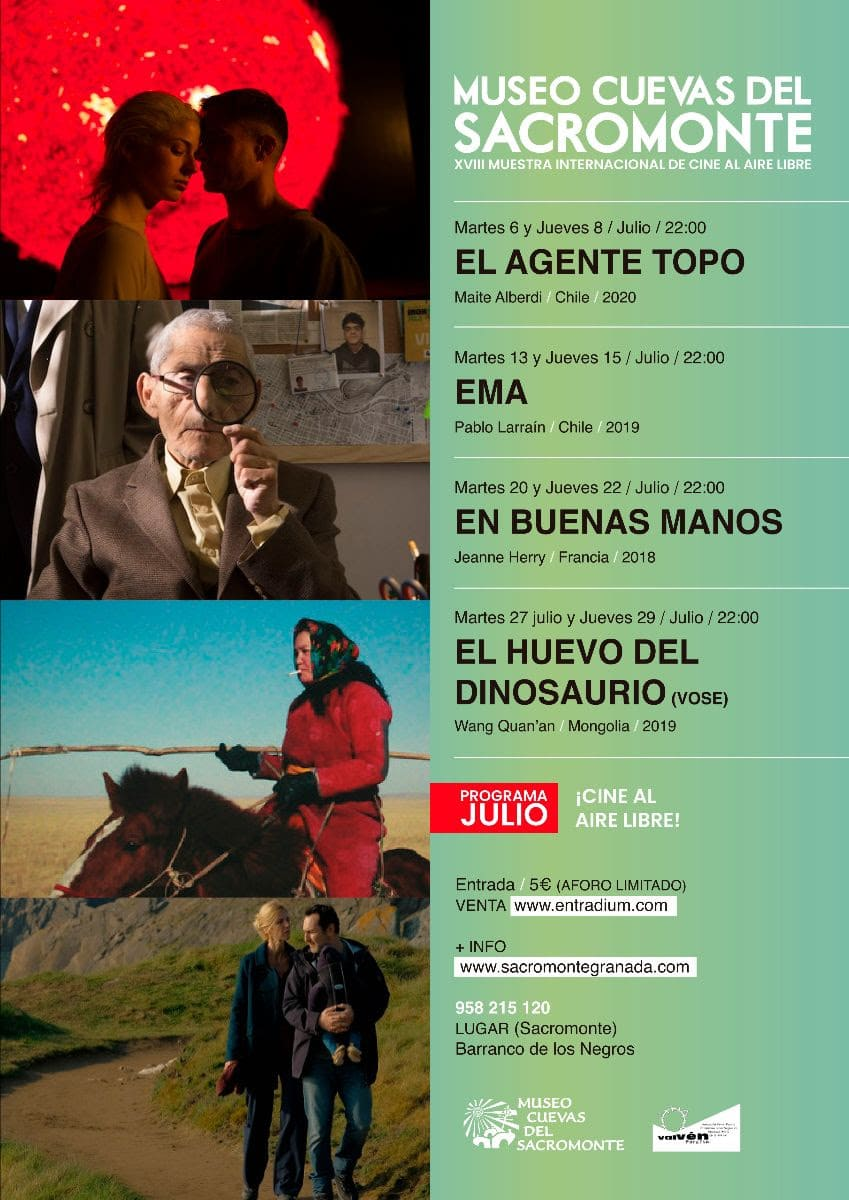 cine verano Sacromonte Granada