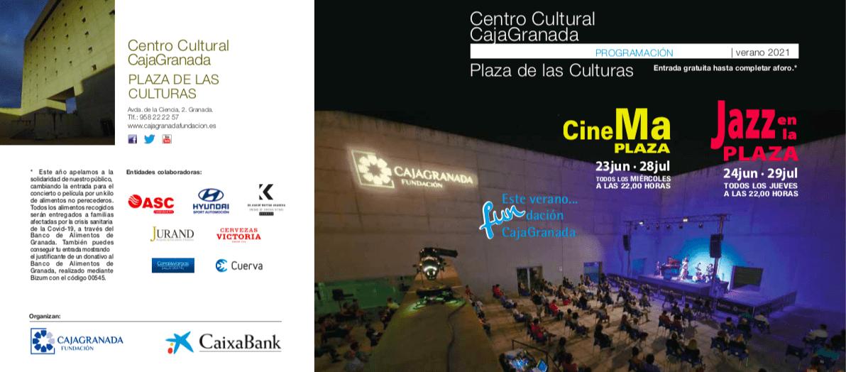 cinemaplaza cine verano granada