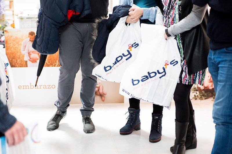 compras para bebés Granada
