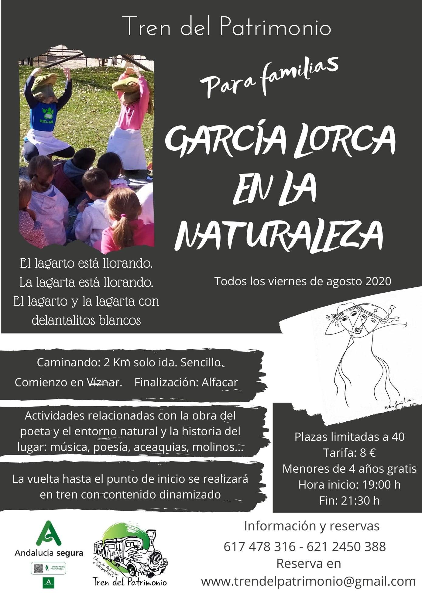 García Lorca en la naturaleza