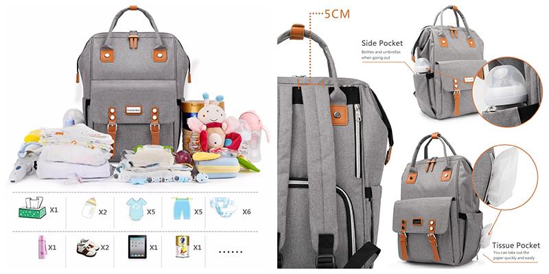 mochila para cochecito bebé Grande